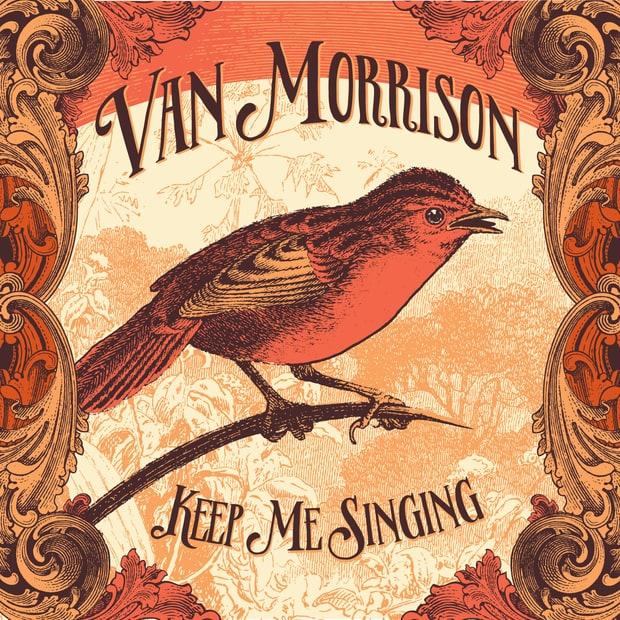 Image result for van morrison keep me singing