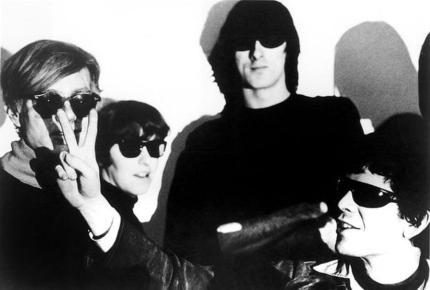 I Velvet Underground con Andy Warhol, 1966. Photofest