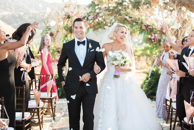 Inside Anna Camp, Skylar Astin's Vineyard Wedding: Photos