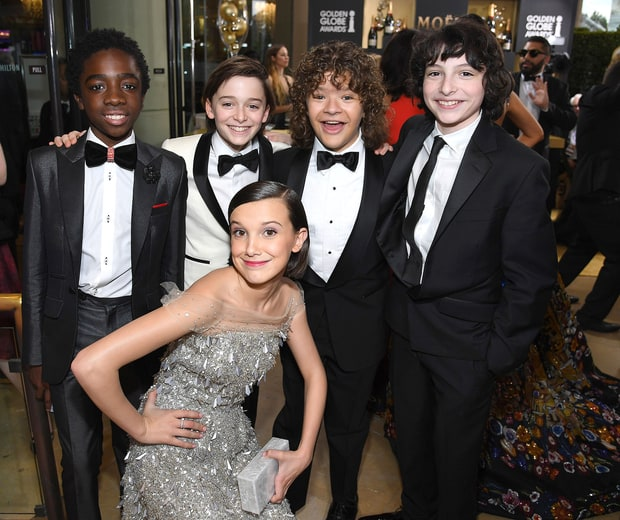 Reese Witherspoon, Amy Schumer and More Celebs Who Were Obsessed With the 'Stranger Things' Kids at the 2017 Golden Globes