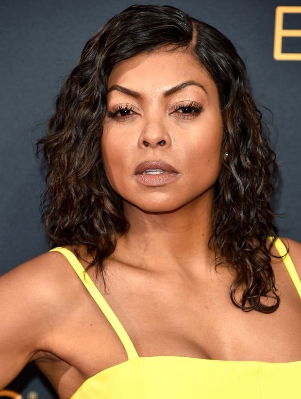 Taraji P. Henson's Rose Gold Eyes