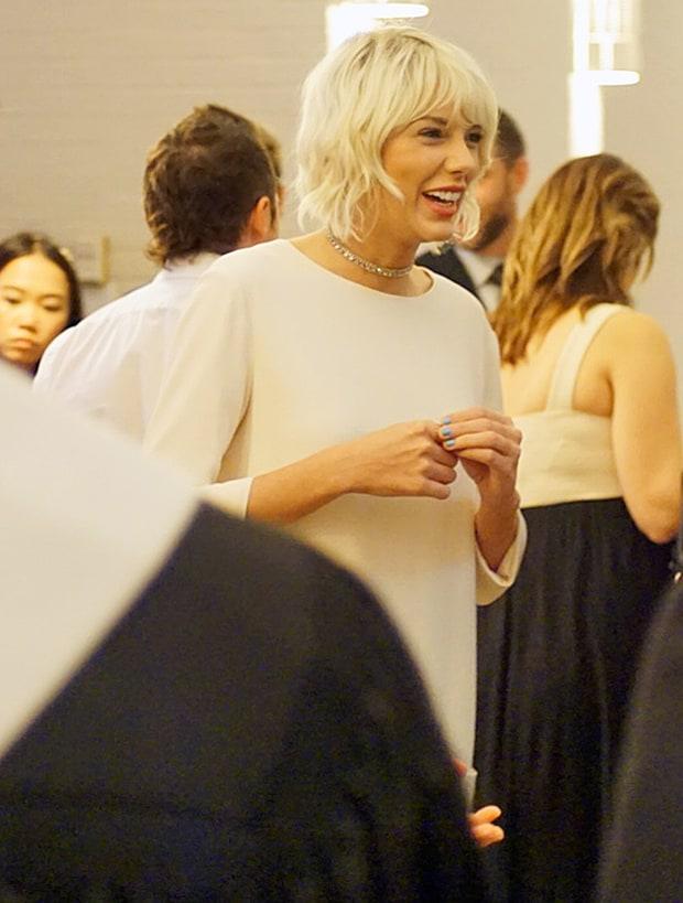 Taylor Swift Left Coachella To Wear White To A Friend S Wedding