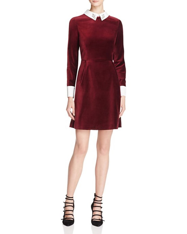 Tracy Reese Velvet Frost Dress 19 Velvet Dresses You Ll