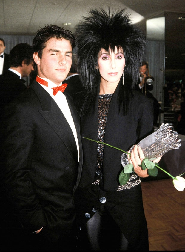 Cher & Tom Cruise