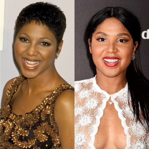 toni braxton 90s pop stars then and now us weekly