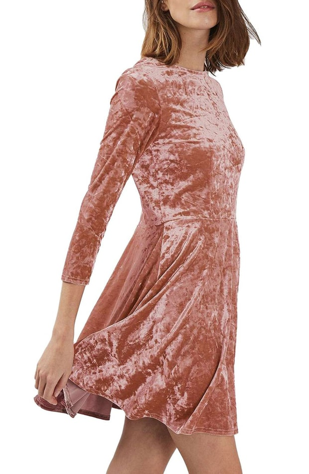 Tracy Reese Velvet Frost Dress 19 Velvet Dresses You Ll