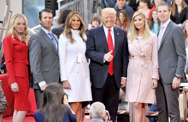 Donald Trump Family Melania trump really wants donald trump to give up ...