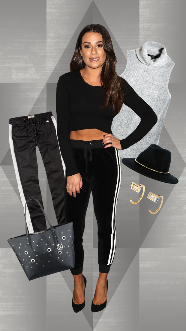 How to Wear Track Pants to Work, Brunch, Parties