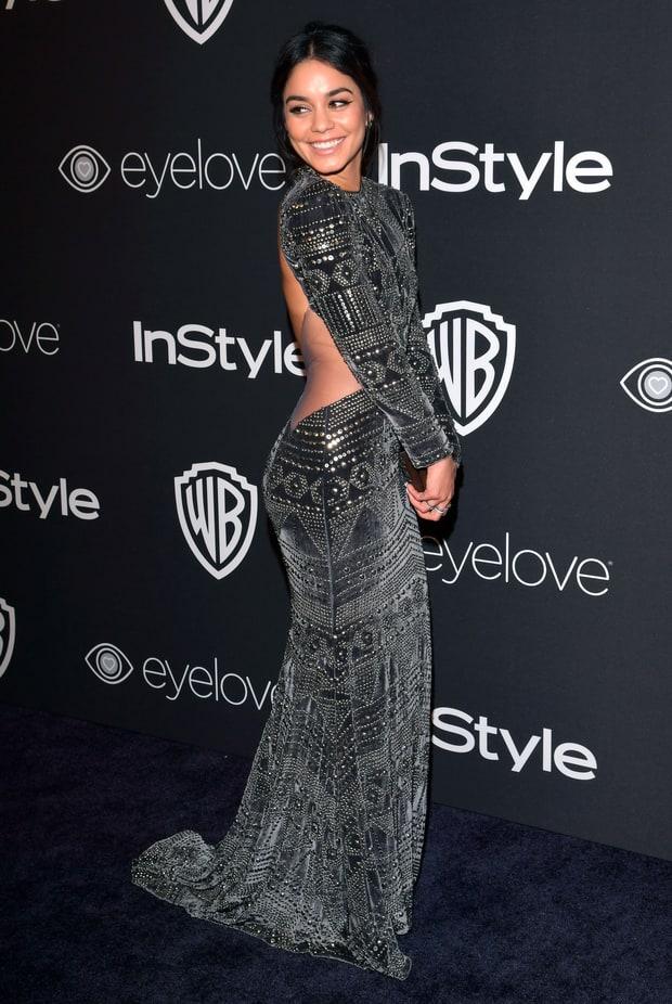 Vanessa Hudgens | Golden Globes 2017 Afterparties Fashion: What the ...