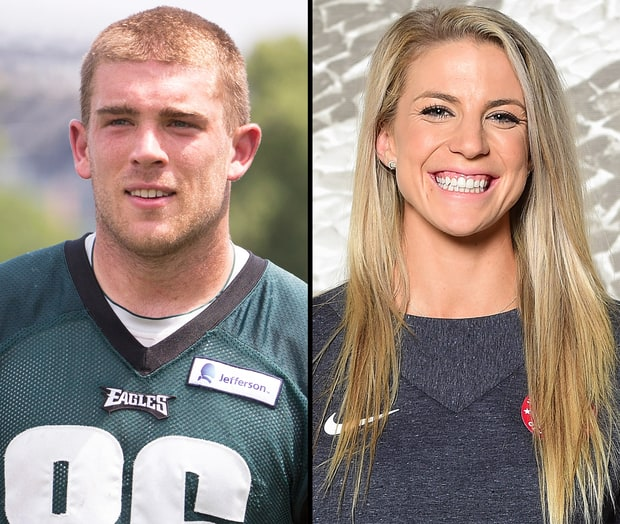 Julie Johnston and zach ertz