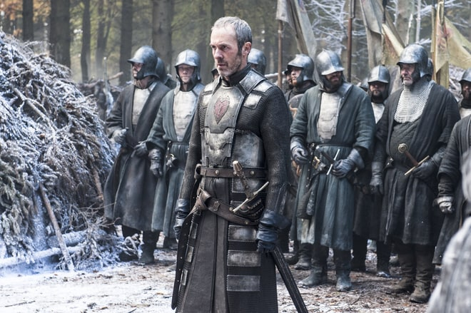 Stannis Baratheon vs. the Wildings