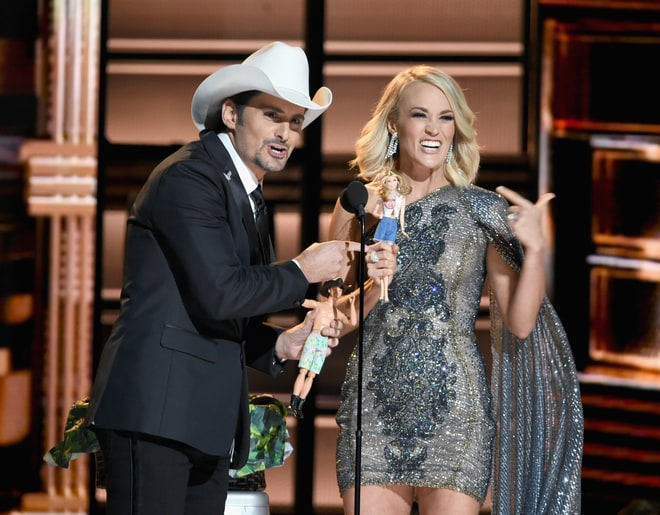 Worst: Brad Paisley and Carrie Underwood's Sad! Monologue