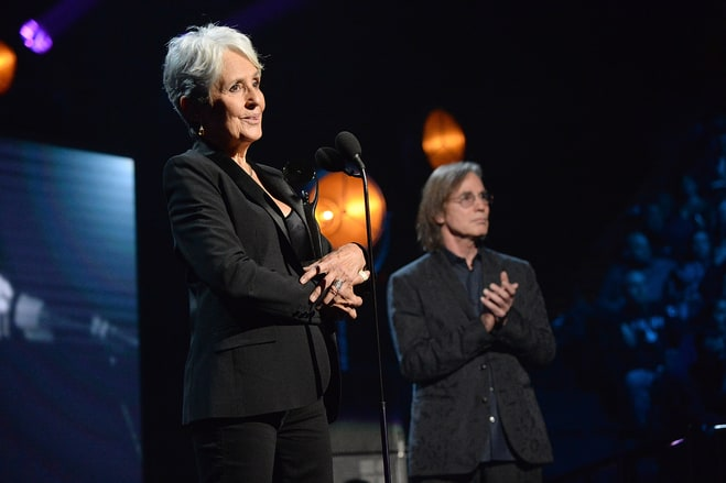 Joan Baez Raises a Call to Arms