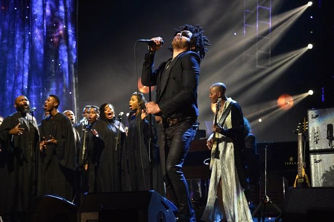 Lenny Kravitz Leads a Gospel-ized Prince Tribute