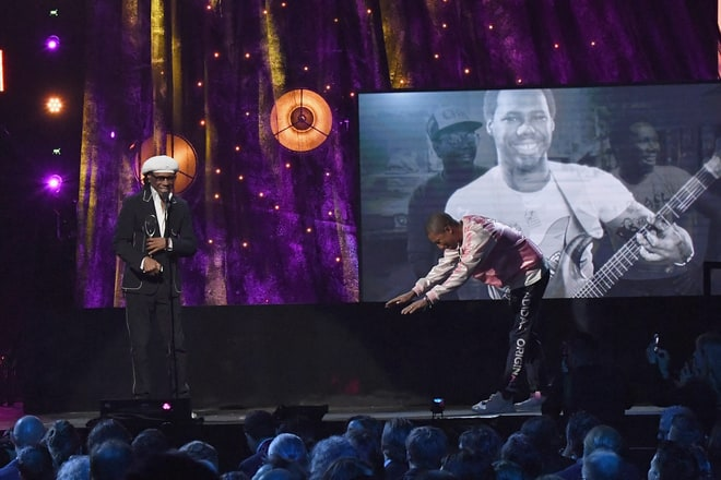 Pharrell Commends Nile Rodgers