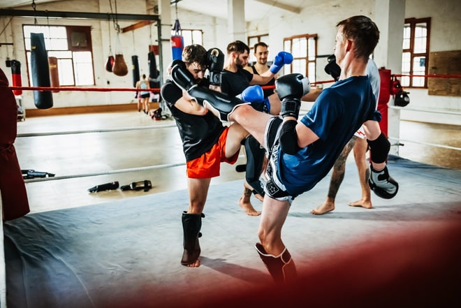 Muay Thai Inspired Workout