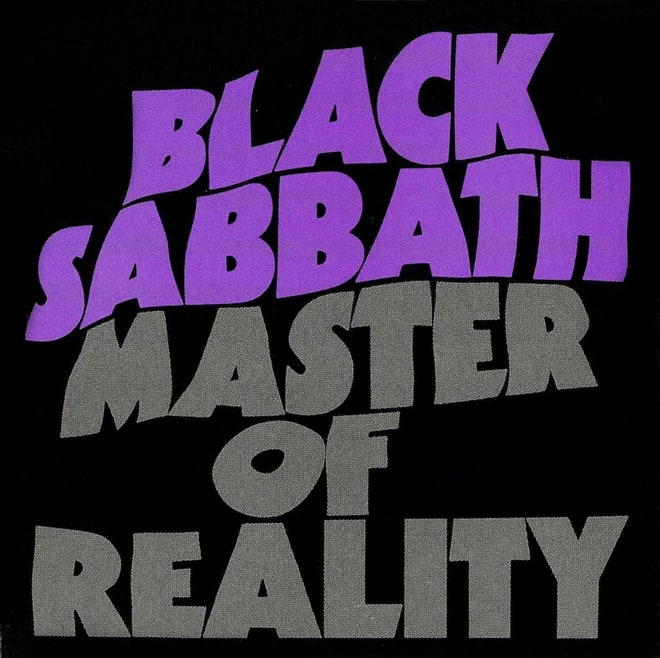 Black Sabbath, 'Master of Reality' (1971)