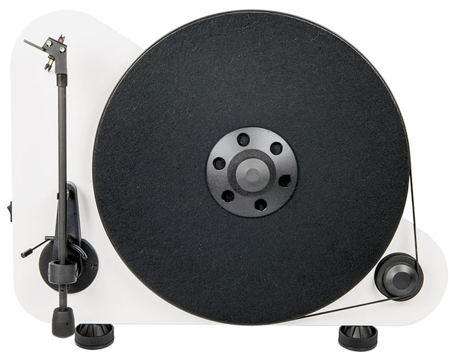 The Stand-Up Turntable