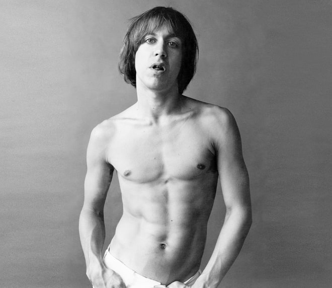 Iggy Appears Fully Nude on the Cover of 'Little Caesar' (1979)