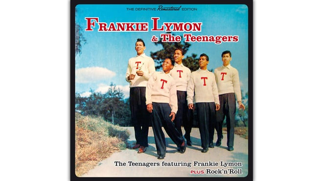25. Frankie Lymon & the Teenagers, 'The Teenagers Featuring Frankie Lymon' (1956)
