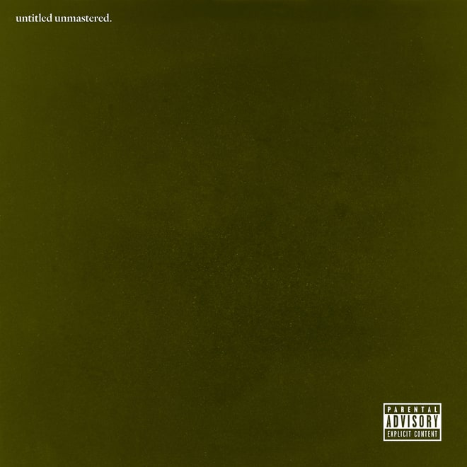 Kendrick Lamar, 'Untitled Unmastered'