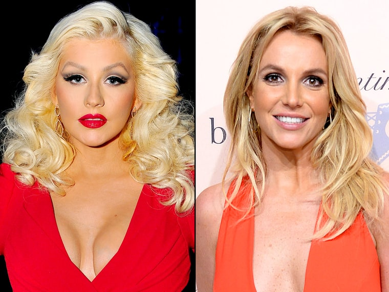 Christina Aguilera Britney Spears What They Ve Said About Each Other Us Weekly