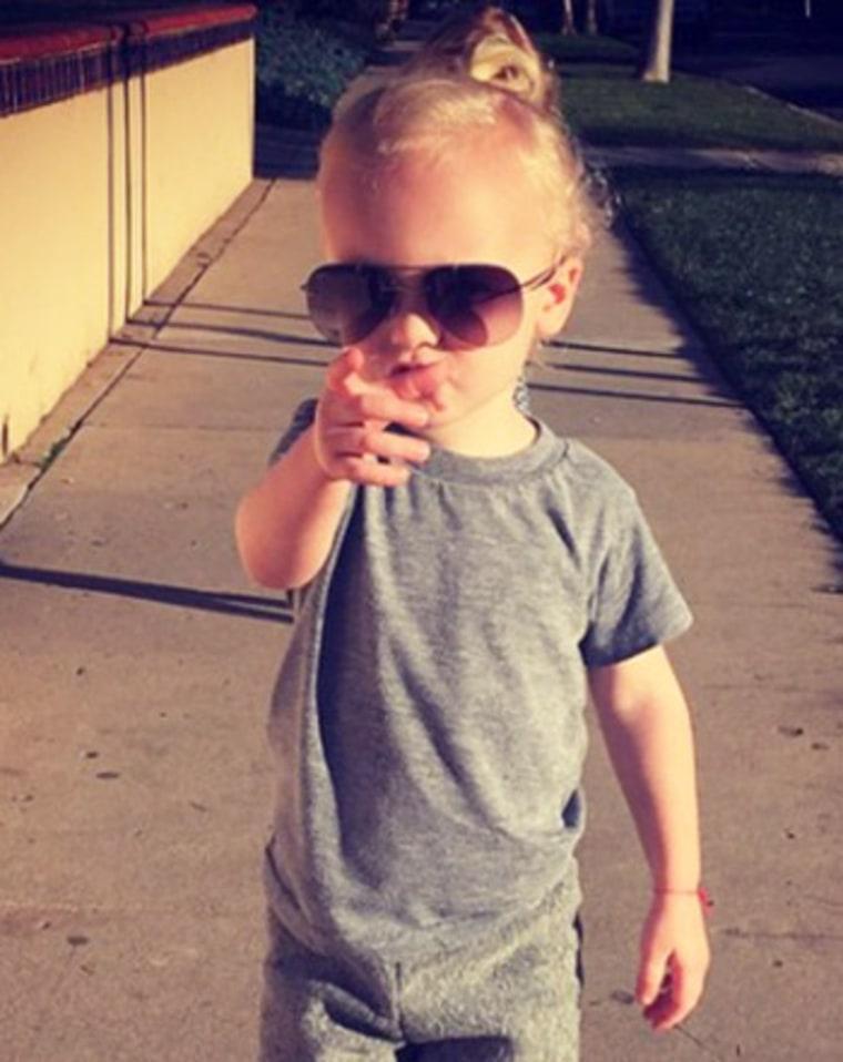 James Van Der Beek S 3 Year Old Son Has A Man Bun