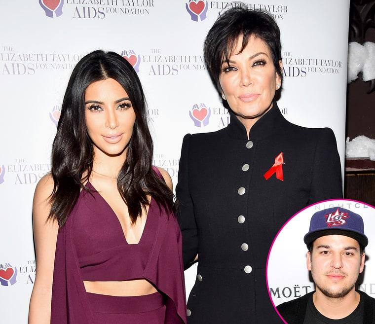 Kris Jenner Robert Kardashian