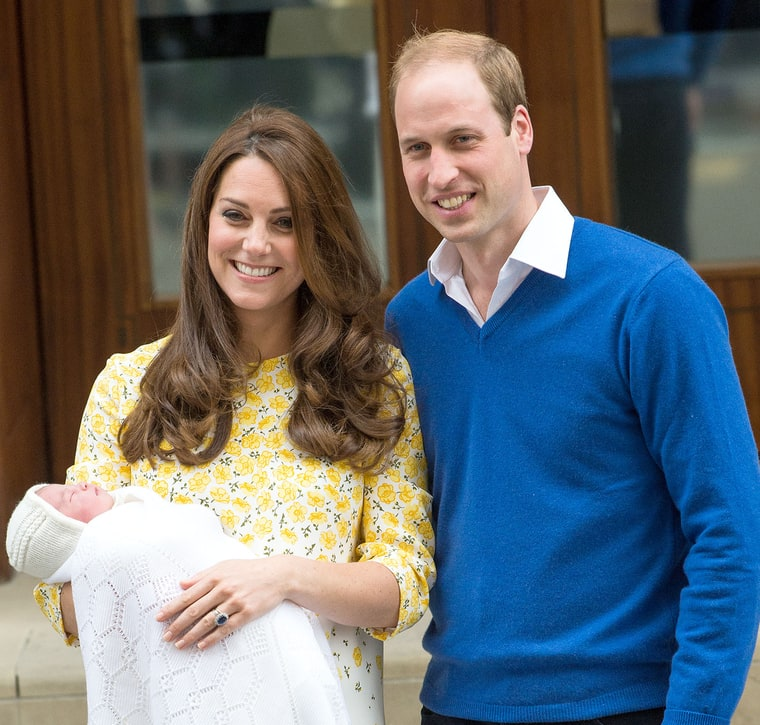 Kate Middleton Welcomes Royal Baby Girl With Prince