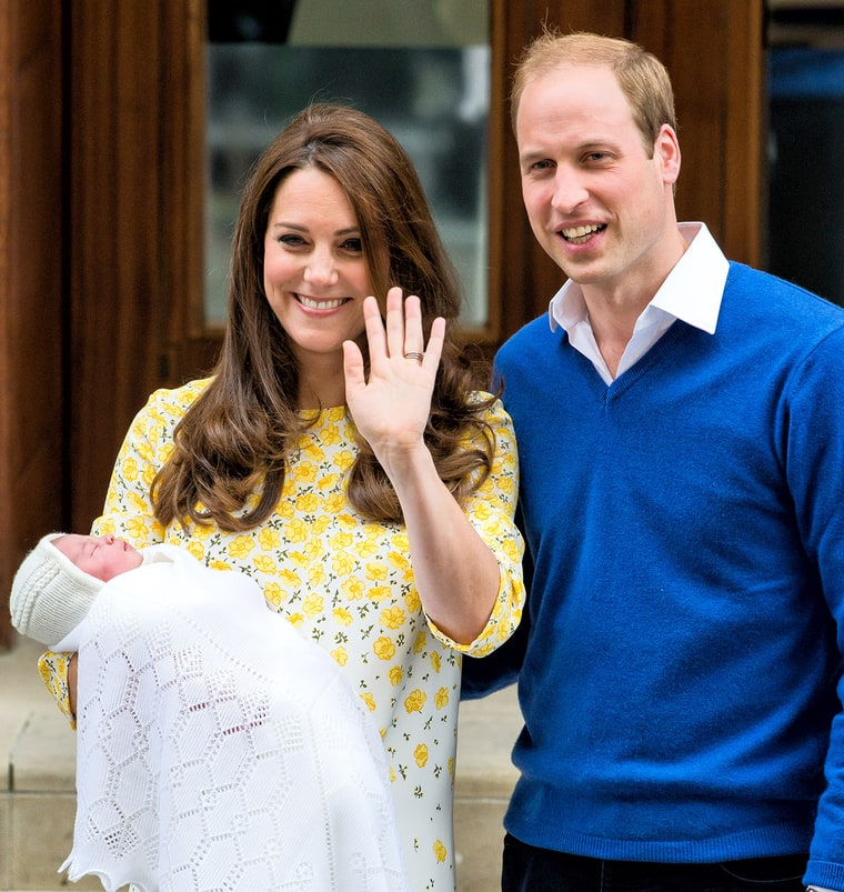 Royal Baby: Kate, William Name Daughter Charlotte