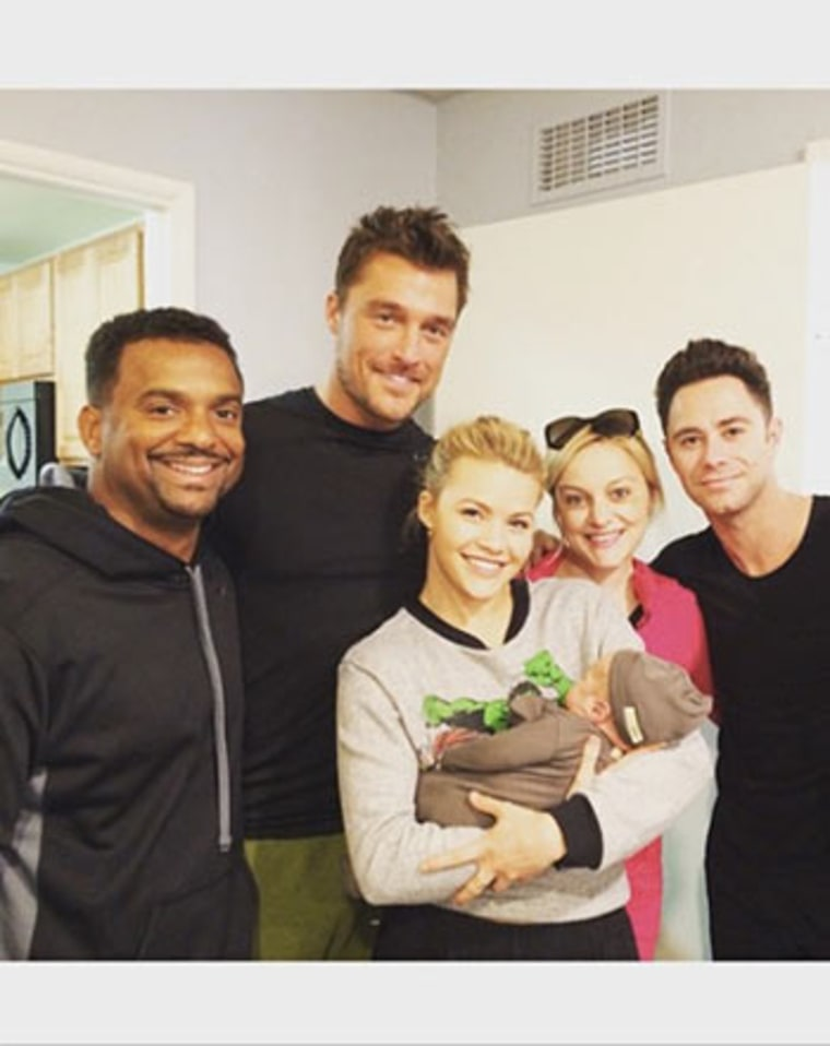 Alfonso Ribeiro Introduces Baby Boy Anders to DWTS Family ...