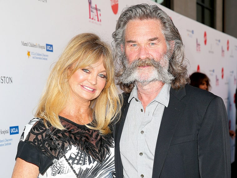 Goldie hawn has been with actor kurt russell for over 30 years