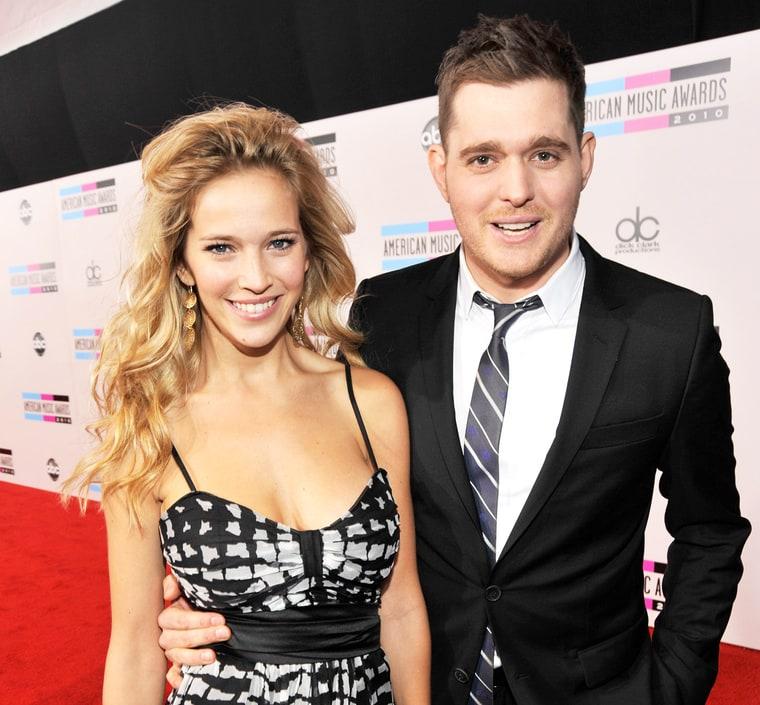 Michael Buble S Wife Luisiana Lopilato Is Pregnant Again