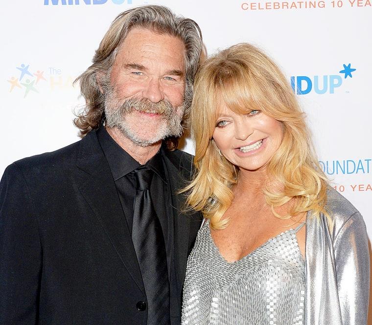 Goldie Hawn, Kurt Russ...