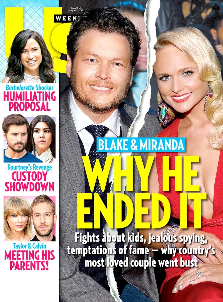 Miranda lambert heartbroken blake shelton devastated for Miranda lambert blake shelton break up