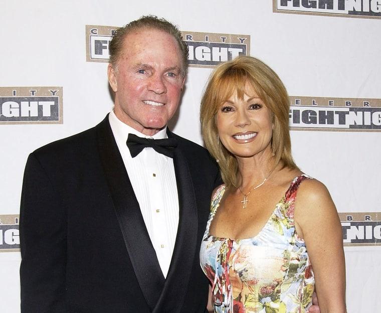 Frank gifford sportscaster husband to kathie lee gifford for Frank and kathie lee gifford wedding