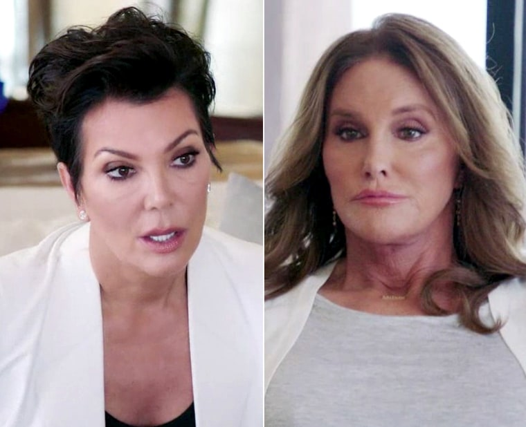 caitlyn jenner and kris meet
