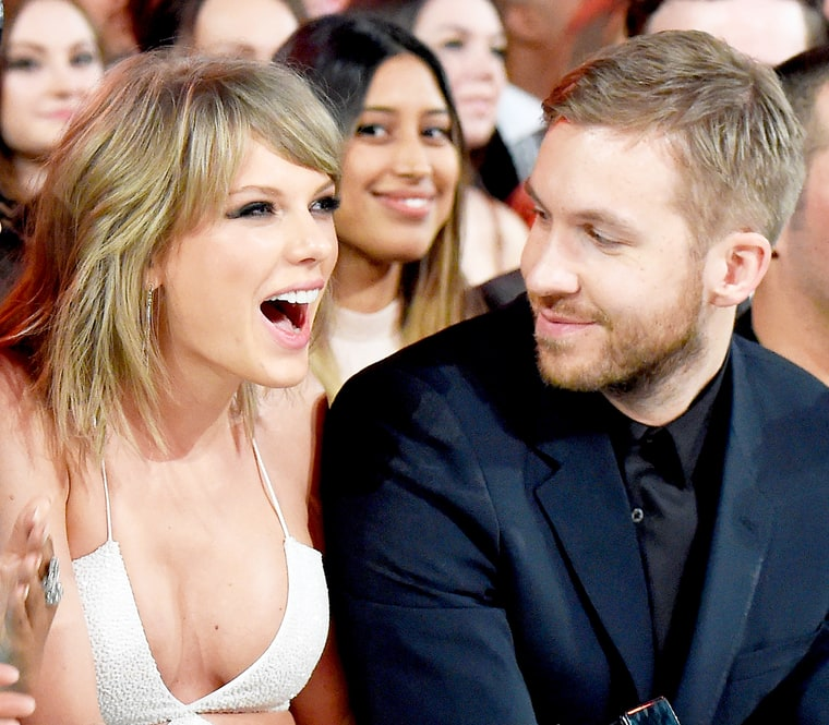 Taylor Swift And Calvin Harris Married: Taylor Swift Gets Support From Calvin Harris At Miami Show