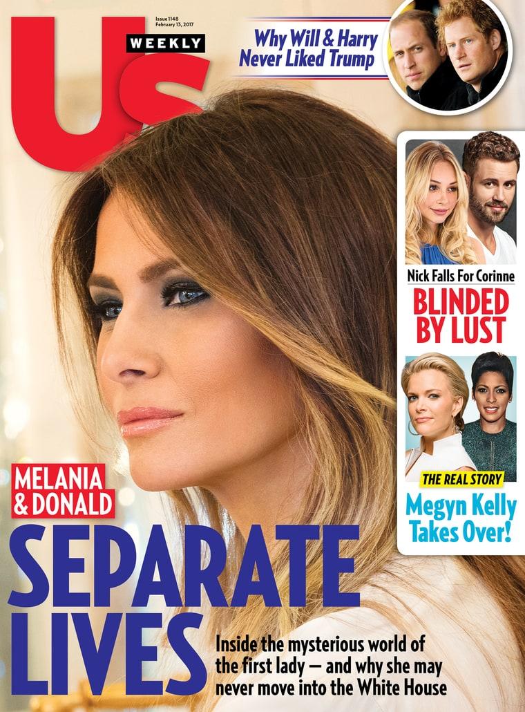 Vidas separadas de Melania Trump y Donald Trump