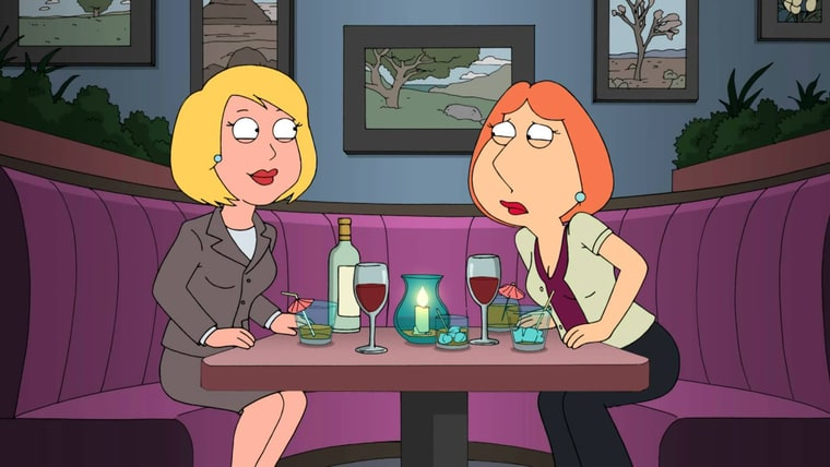 Family guy dating the count