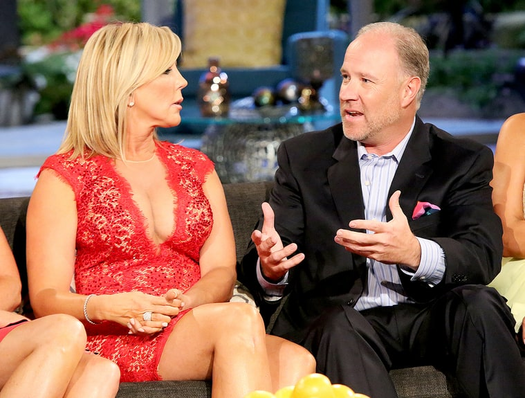 divorced and dating vicky The divorce courts are busy this week real housewives of oc star, vicki gunvalson filed for divorce on monday in a orange county courthouse.