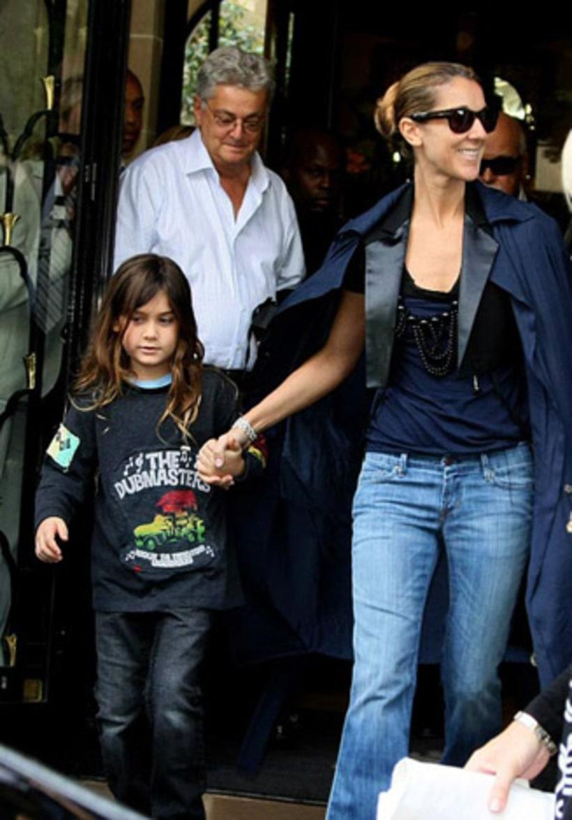Rene-Charles with Celine Dion | Kids Who Need Haircuts ...