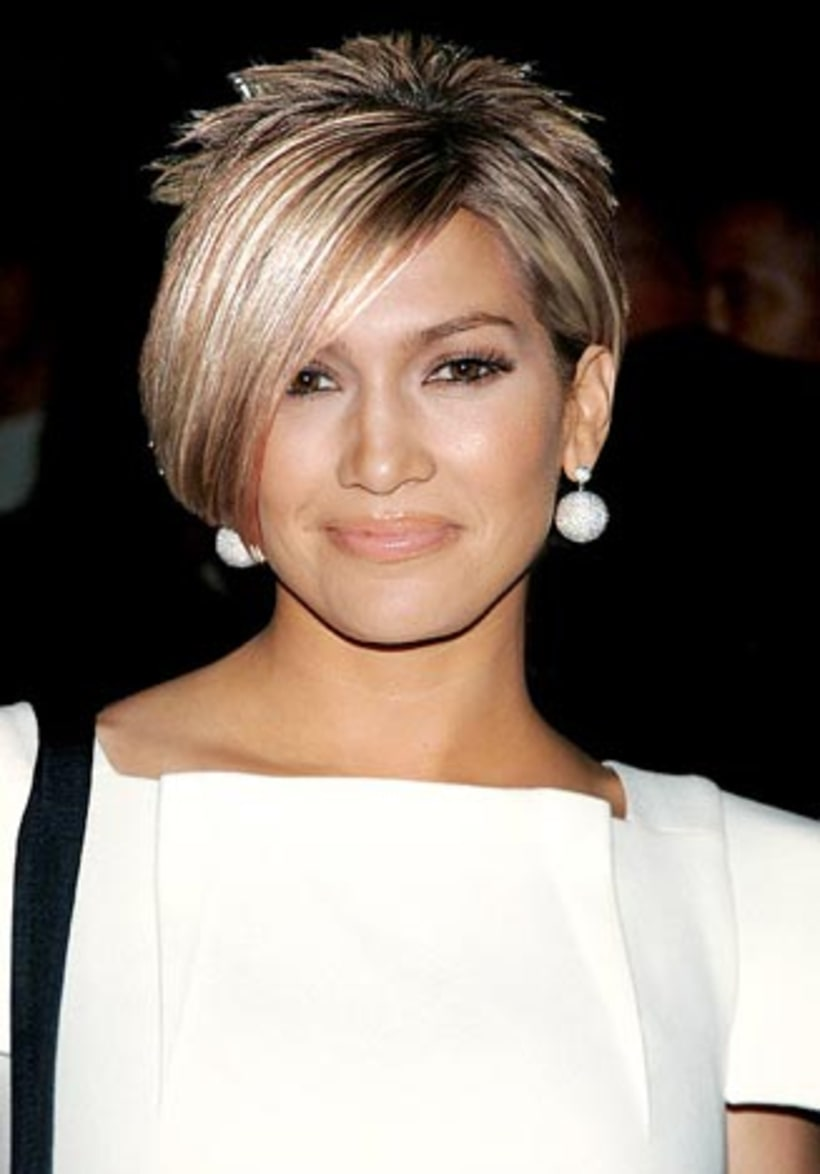katniss everdeen hairstyles : ... Lopez See What Stars Look Like With Kate Gosselins Hair Us Weekly