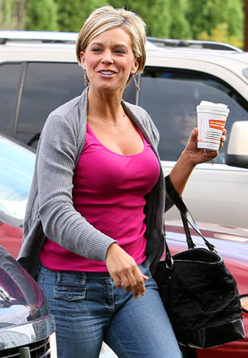 Upskirt Kate gosselin
