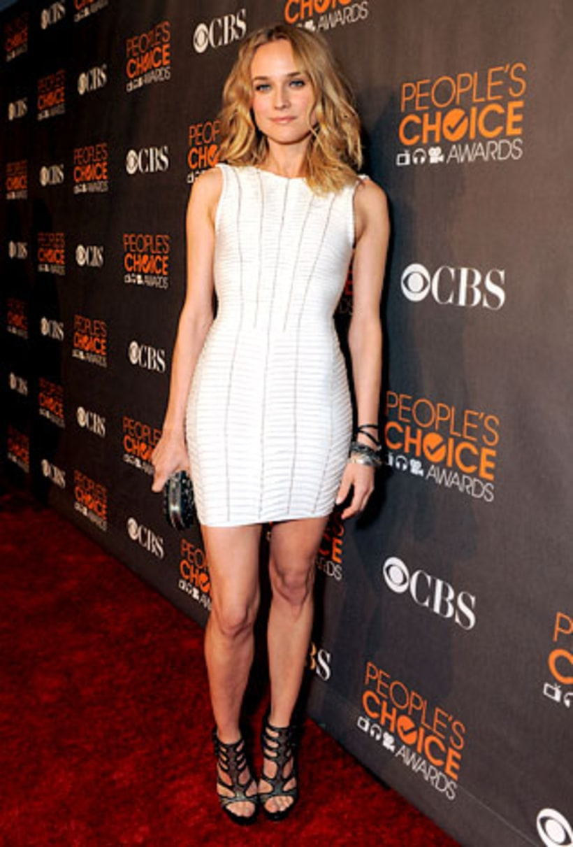 Diane Kruger People S Choice Awards Style Us Weekly