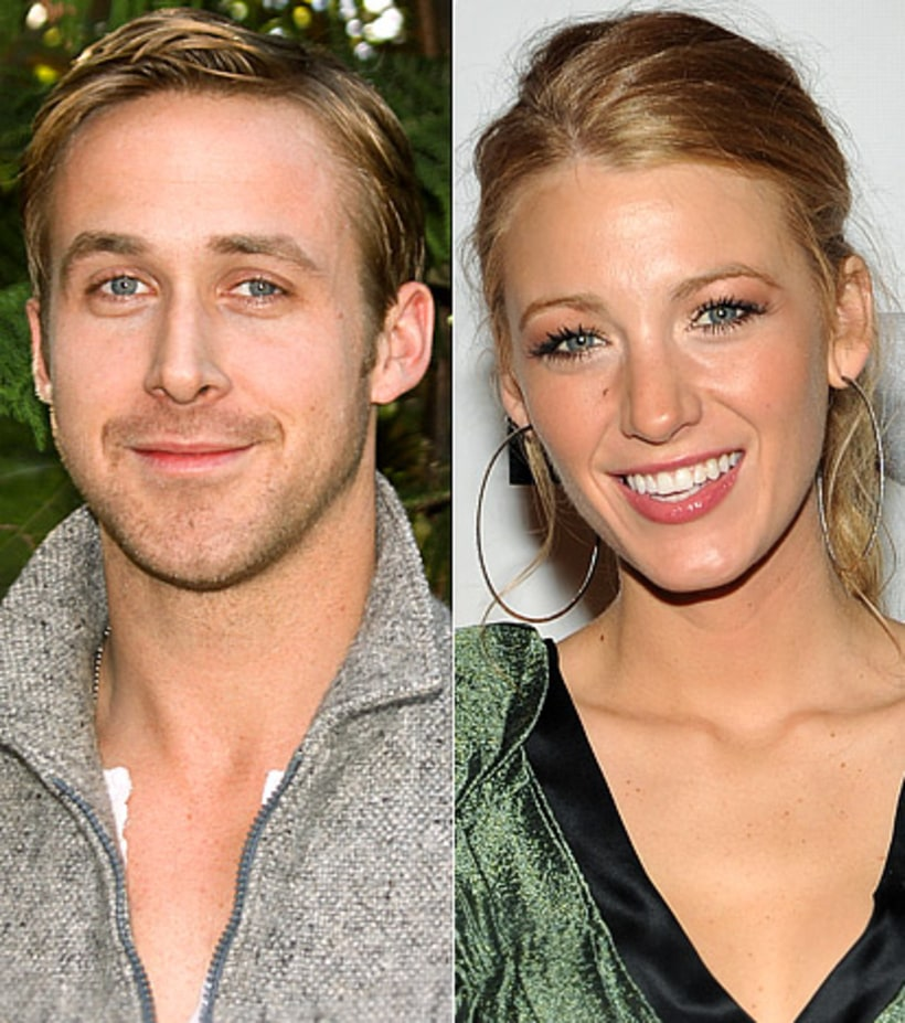 Ryan Gosling and Blake Lively | Hot Winter Romances | Us ...