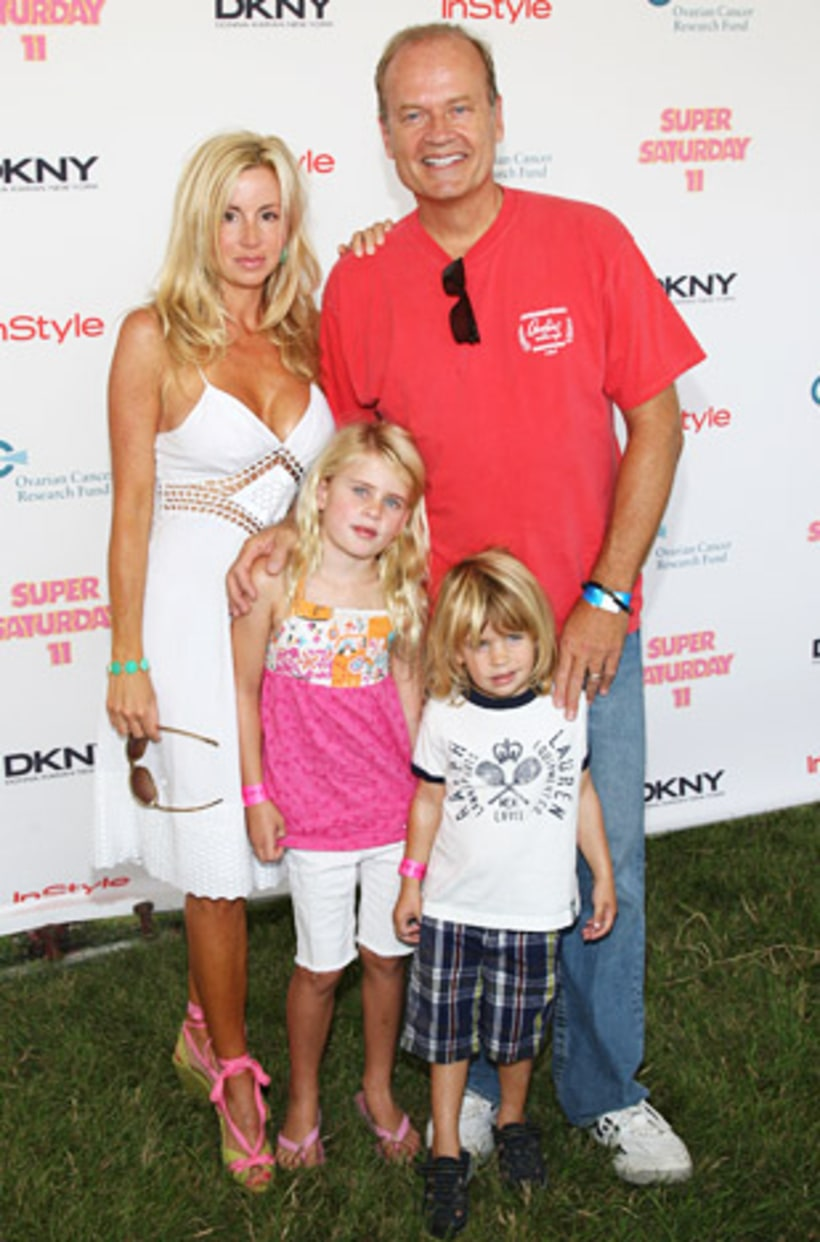 Kelsey Grammer and Camille Grammer | Celebrity Surrogacy ...