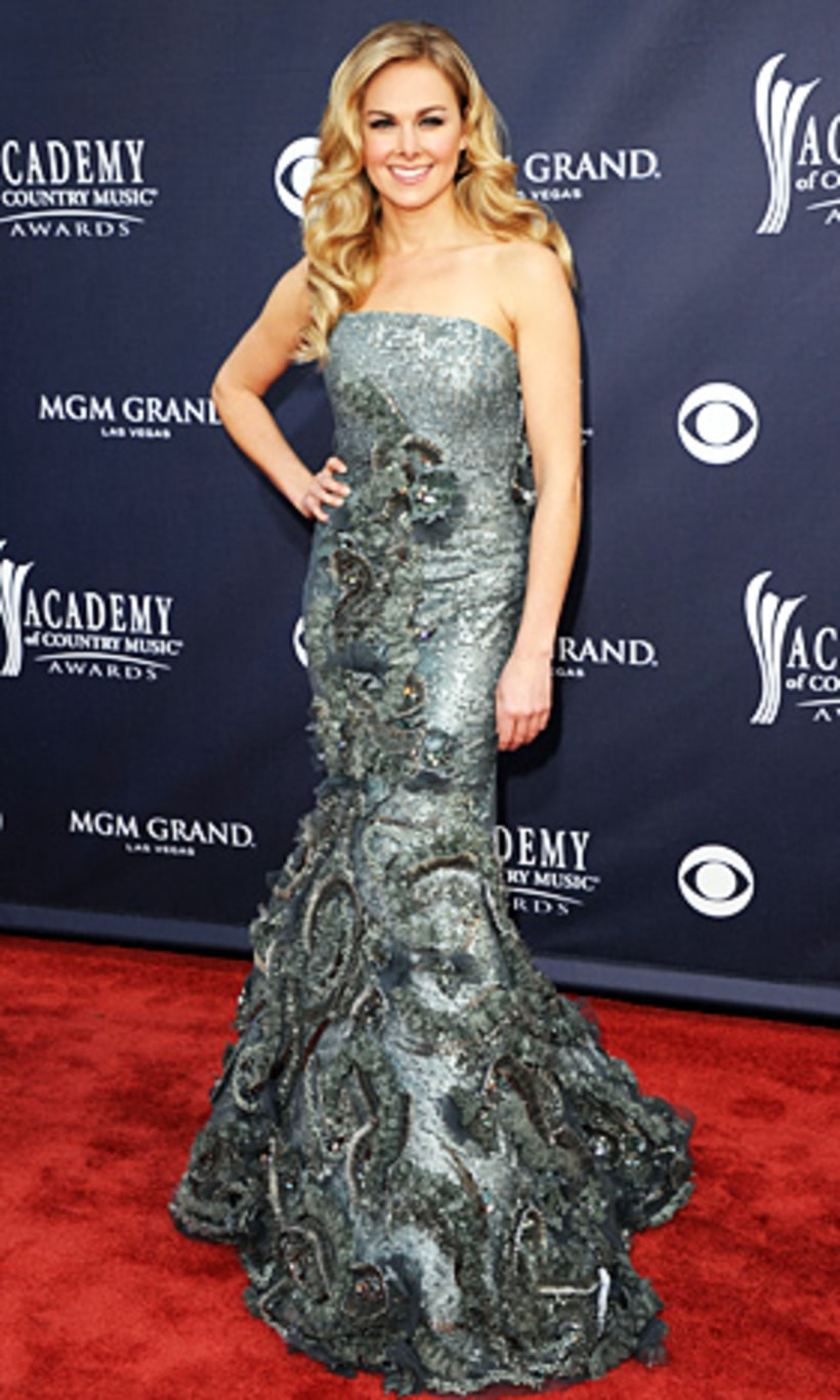 Laura Bell Bundy Academy Of Country Music Awards Red