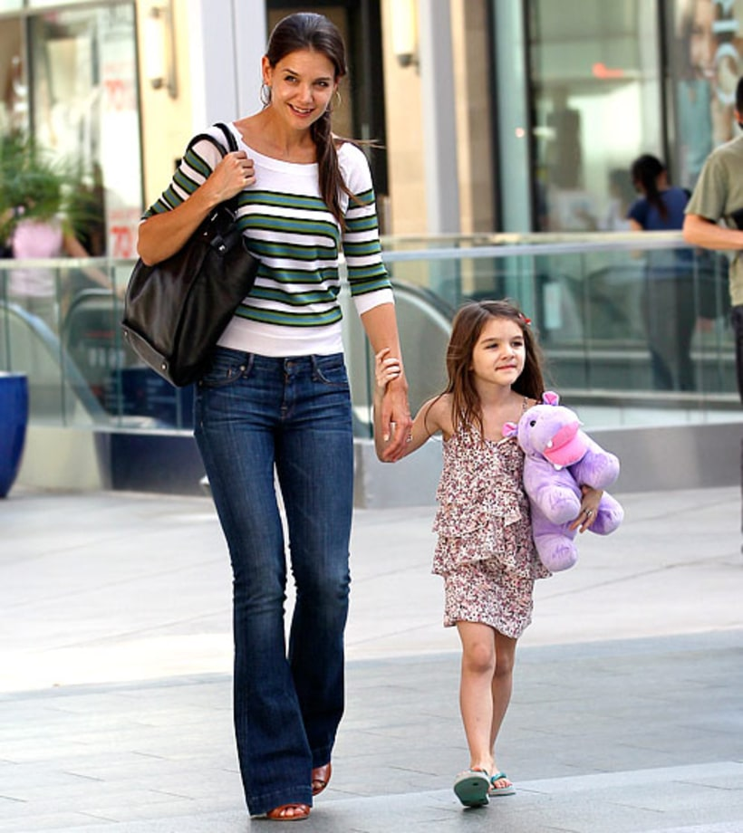 Katie Holmes and Suri | Famous Moms and Daughters | Us Weekly