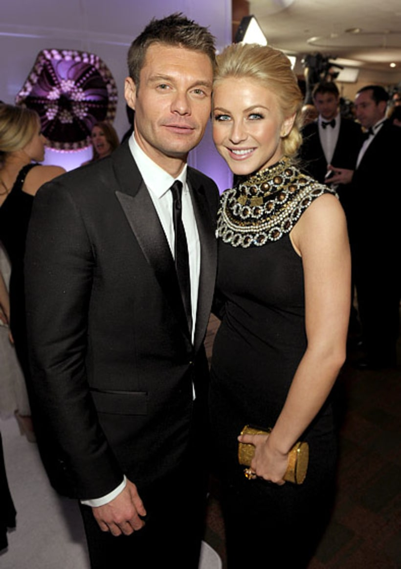Golden Couple! | Ryan Seacrest and Julianne Hough's Cutest ...